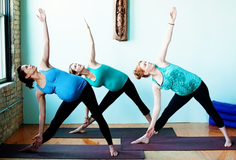 Online Prenatal Yoga Teacher Training | prenatal-yoga-triangle